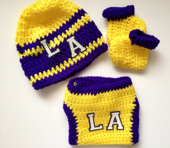 Baby Gift Los Angeles : La los angeles lakers basketball baby infant gift set on