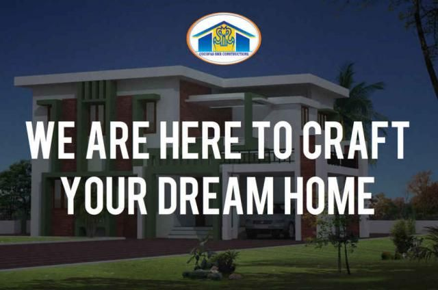 Dream Home #COCOFAS #SMRconstructions We are here to craft your dream home. We guarantee & support throughout the project to meet your expectations. Contact us for all construction & construction field affiliated services Call: 96596 66077