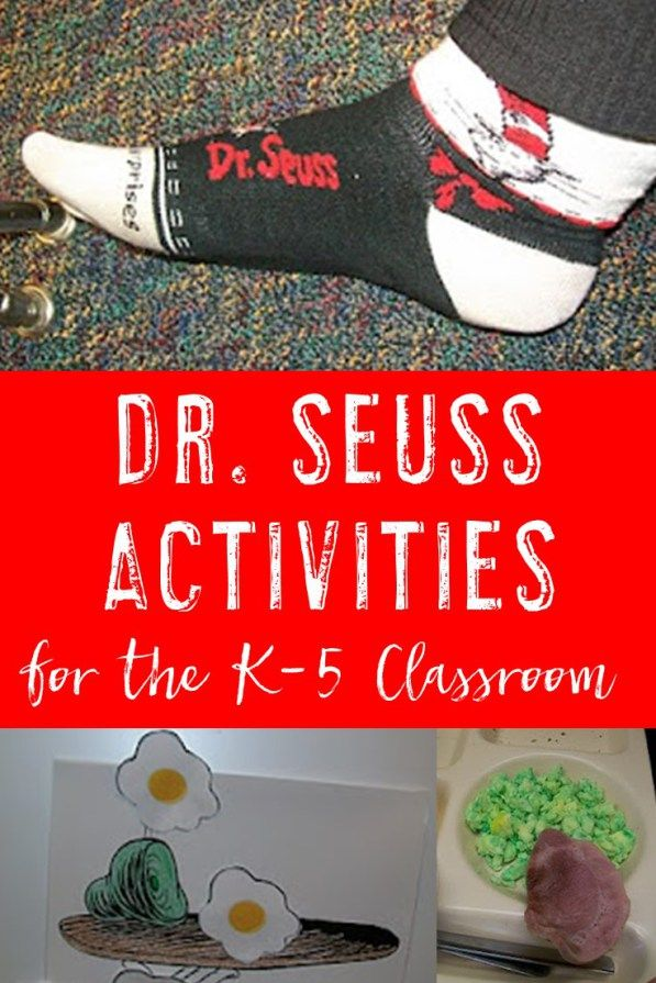 Dr. Seuss Writing Prompts for K-5