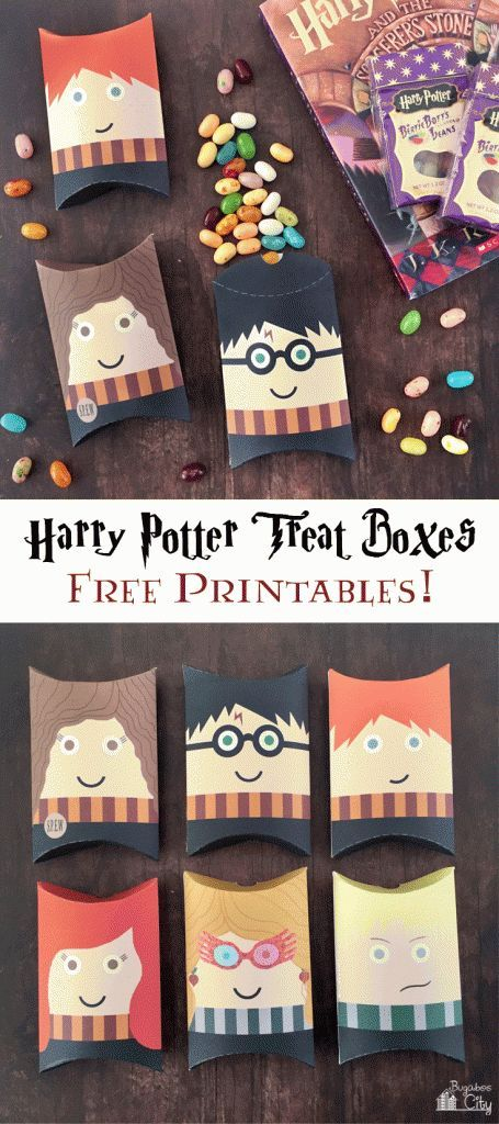Harry Potter Pillow Boxes