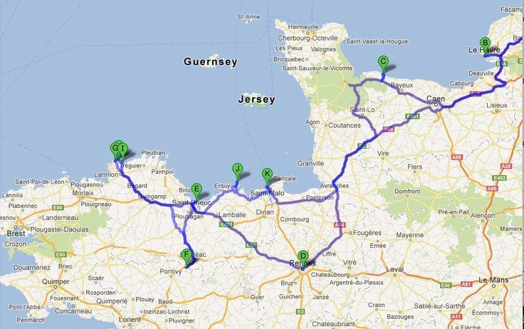 Mit dem Auto durch die Bretagne - Inspirationen für einen Roadtrip mit Kindern - Familienreiseblog Köln Format