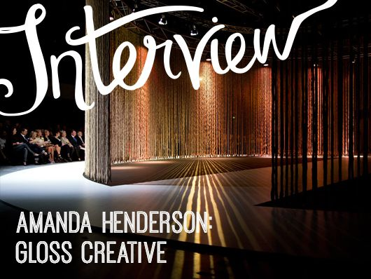 Interview – Amanda Henderson of Gloss Creative by Andrea McArthur for Creative Women's Circle