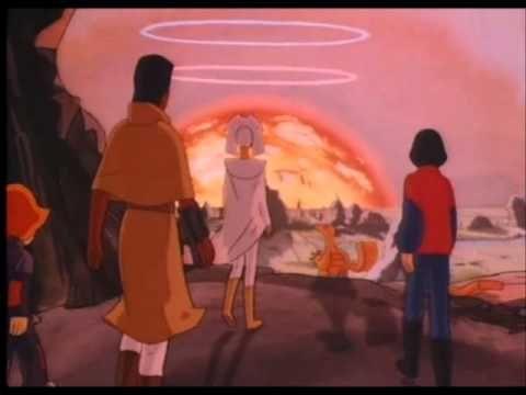 Générique de la série : Les mondes Engloutis.
