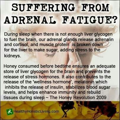 Fatigue remedies for men and women Going to have to try this. Suffering from Adrenal Fatigue - Honey / Health Remedies Natural Health  Healing