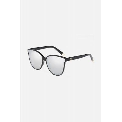 Reflective white color Classical Style UV Protection Neutral Sunglasses online shopping at GearBest.com.