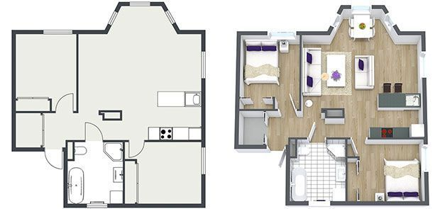 75 best floor plans images on pinterest 3d floor plan software