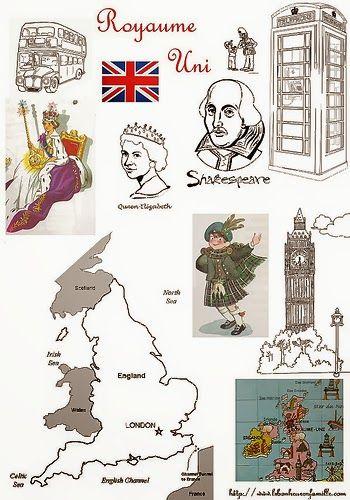 Géographie, le Royaume uni...