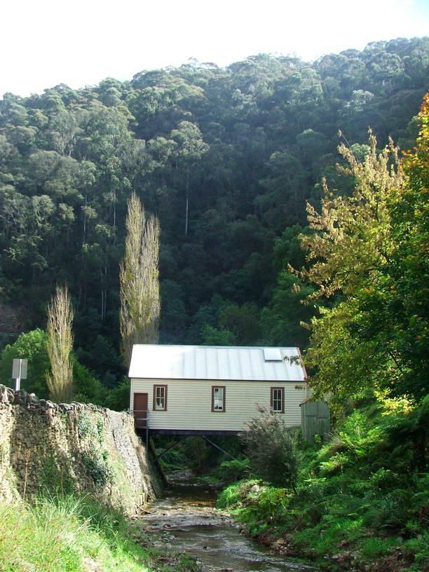 #Walhalla an old mining town kept original for tourists