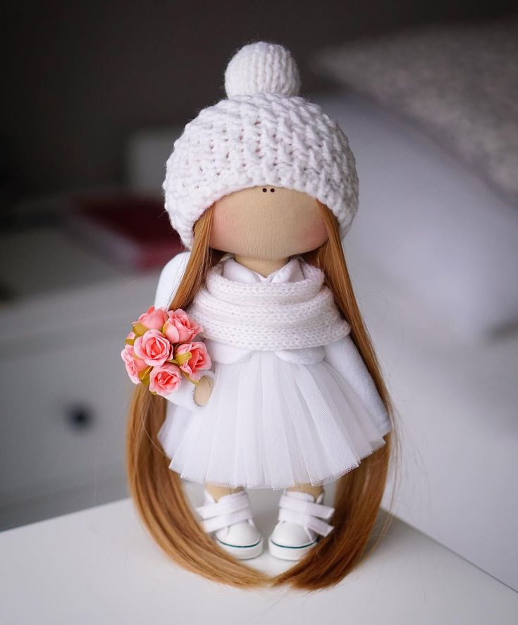 С добрым утром!!! ♀️ Ангелок под ёлочку! ❤️ #ad_homedecor #handmade #doll#artdoll #ручнаяработа #авторскаякукла #авторскаяработа #кукла #подарок#тильда#tilda#decor#homedecor