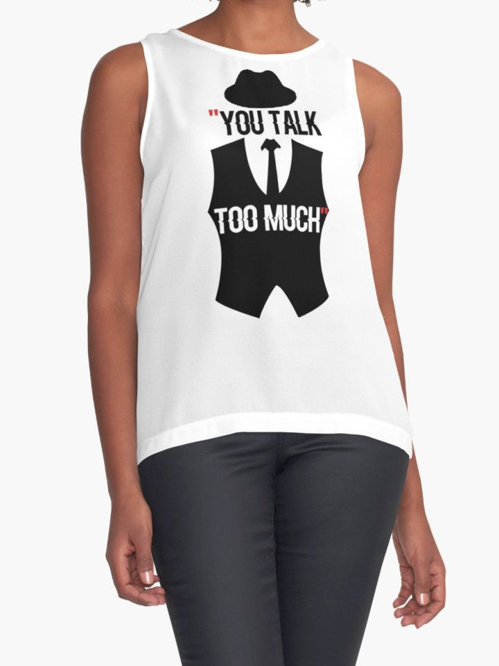 « The blacklist Quote talk too much » par WeeTee http://www.redbubble.com/fr/people/weetee/works/24787228-the-blacklist-quote-talk-too-much?asc=t&p=contrast-tank @redbubble #blacklist #quote#talk #quote #serial #episode #s01e01 #elizabeth #keen #madonna #trump #HBO