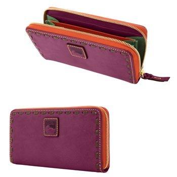 Dooney and Bourke wallet in plum