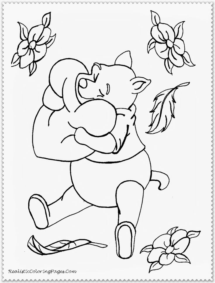 49 best images about valentines coloring pages on for Winnie the pooh valentine coloring pages