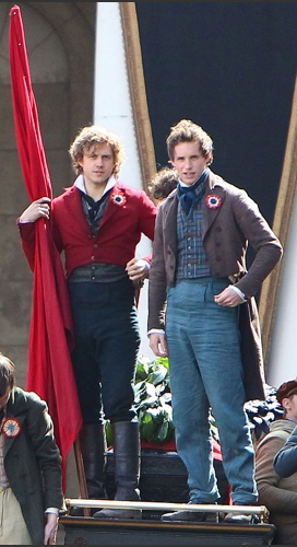 Aaron Tveit and Eddie Redmayne...Even more reasons to be excited for Les Mis!