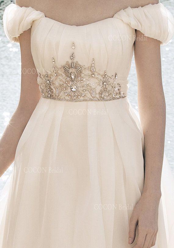 Vestido de novia bohemio de calidad más alta de por CoconBridal                                                                                                                                                                                 Más