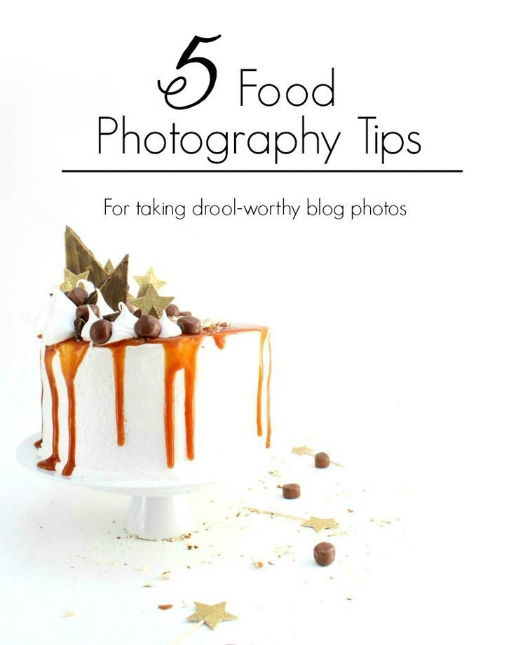 Learn how to take the tastiest food photos on the internet with these 5 food photography tips!