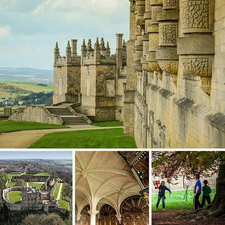 A 17th century aristocratic retreat designed to entertain and impress, the extravagant Bolsover Castle still delights visitors today. Take a walk around the circular castle wall and look down on the statue of Venus in the Fountain Garden, or across to views of the stunning Derbyshire countryside. http://eht.to/fo