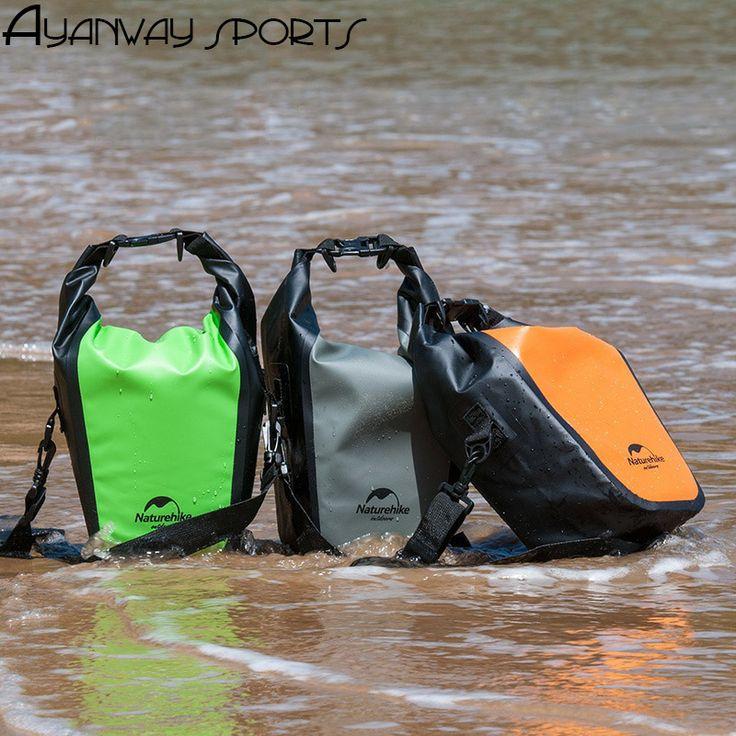 500D pvc Waterproof camera bag swimming pack mobile phone drifting beach outdoor bag light portable one shoulder bag green grey