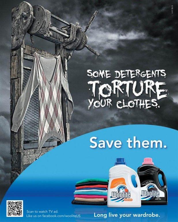 Publicidad en revistas Save them for Woolite by Havas Worldwide