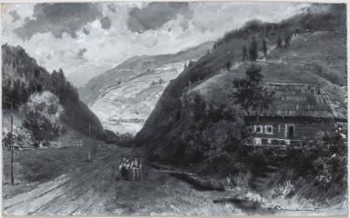 Din vale, la Iacobeni (Bucovina)