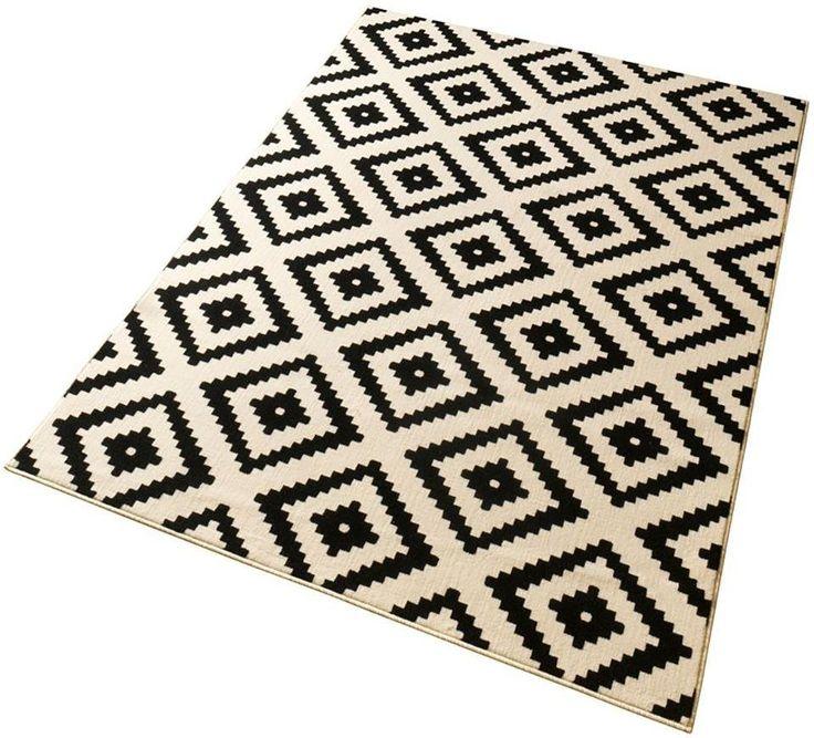 Teppich »Raute«, Hanse Home, rechteckig, Höhe 9 mm ab 19,69€. 1,89 kg/m² Gesamtgewicht (ca.), 9 mm Gesamthöhe (ca.), Ringsrum eingefasst, gekettelt bei OTTO