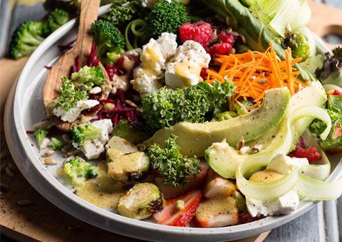 Anti-Oxidant Boosting Salad