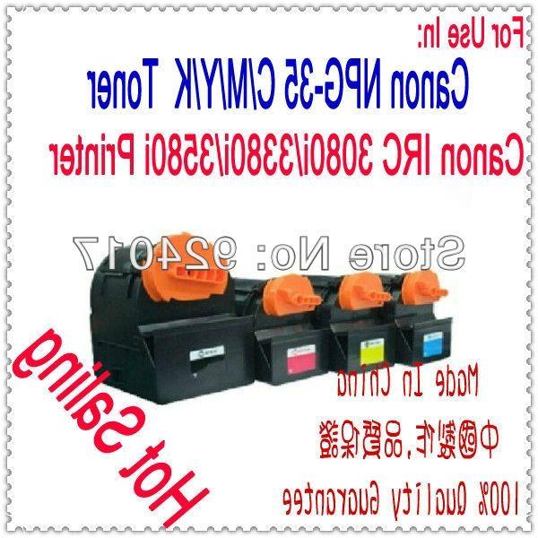 40.00$  Buy here - https://alitems.com/g/1e8d114494b01f4c715516525dc3e8/?i=5&ulp=https%3A%2F%2Fwww.aliexpress.com%2Fitem%2FToner-For-Canon-IRC-3080i-3380i-3580i-Laser-Printer-Use-For-Cartridge-Canon-NPG-35-C%2F1613267665.html - Toner For Canon IRC 3080i/3380i/3580i Laser Printer,Use For Cartridge Canon NPG-35 C/M/Y/K,IRC 3080 3380 Toner For Canon Copier