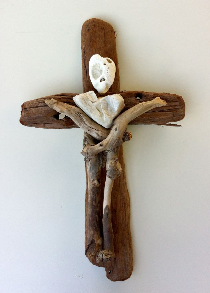 15 best driftwood crosses images on pinterest cross for Driftwood art projects