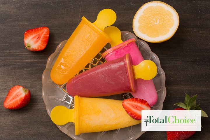 Total Choice Natural Frozen Fruit Bar: This sweet frozen treat is perfect for any time of year. Eat this recipe on the Total Choice 1600-calorie plan.