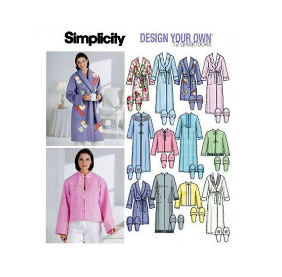 Butterick Patterns Plus Size Bed Jacket