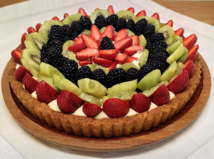 Fresh Fruit Tart - Low Carb, Gluten Free, Sugar Free, Dairy Free - Preheat to 350˚ Looks like a great blog with lots of healthy and yummy recipes!