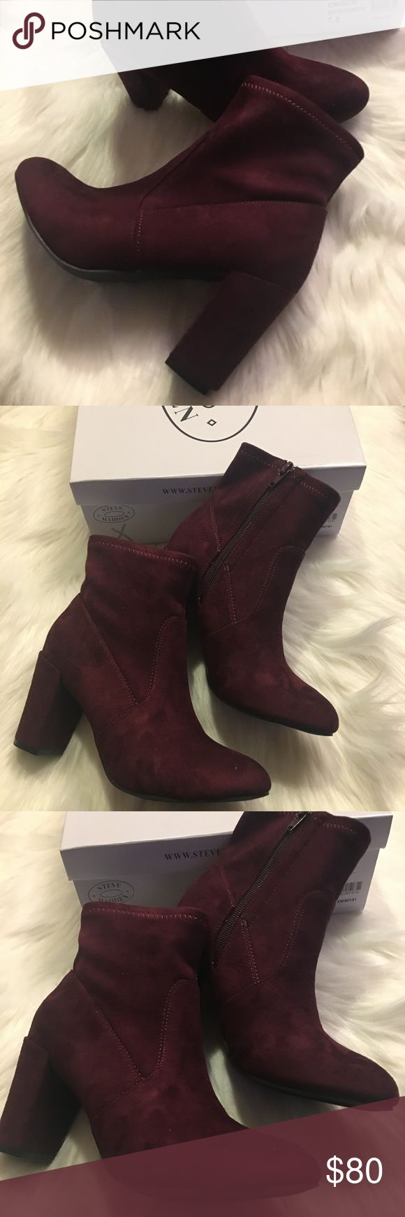 🌼🎁🎀🎀Steve Madden Booties 7.5 Brand New! Comes with the box. Size 7.5 Steve Madden Shoes Ankle Boots & Booties
