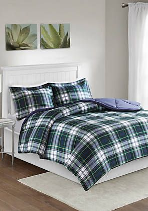 Madison Park Parkston Scotchgard Down Alternative All Season Comforter Set