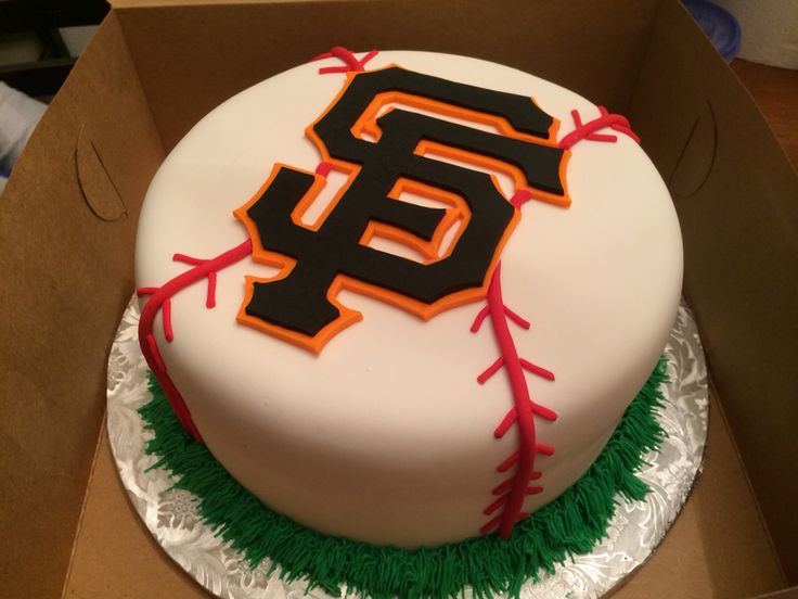 SF Giant's Birthday Cake