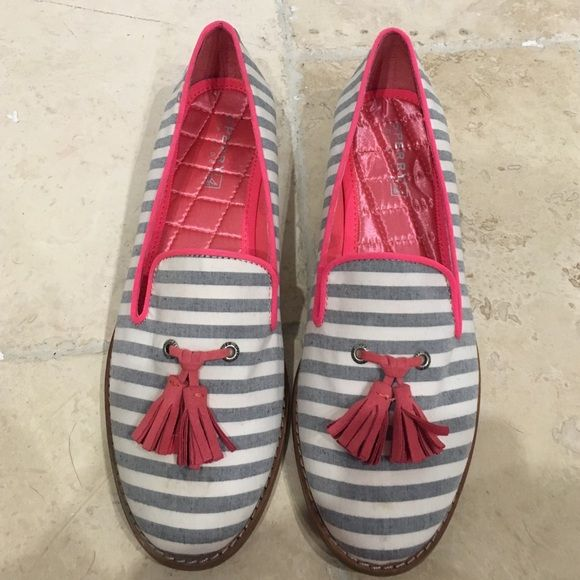 Sperry shoes New with tags. One tiny mark on front shown. No trades. No PayPal Sperry Top-Sider Shoes Flats & Loafers