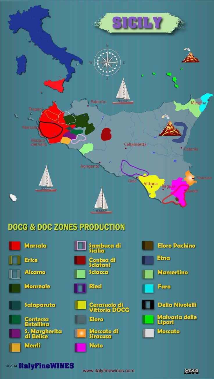 sicily wine region -#Wine #Wineeducation #Italy