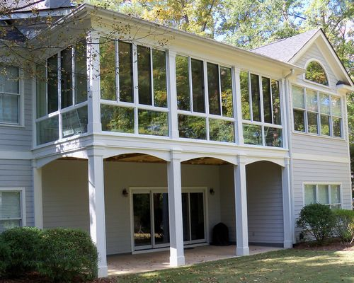 second floor deck covers ideas - WOW.com - Image Results