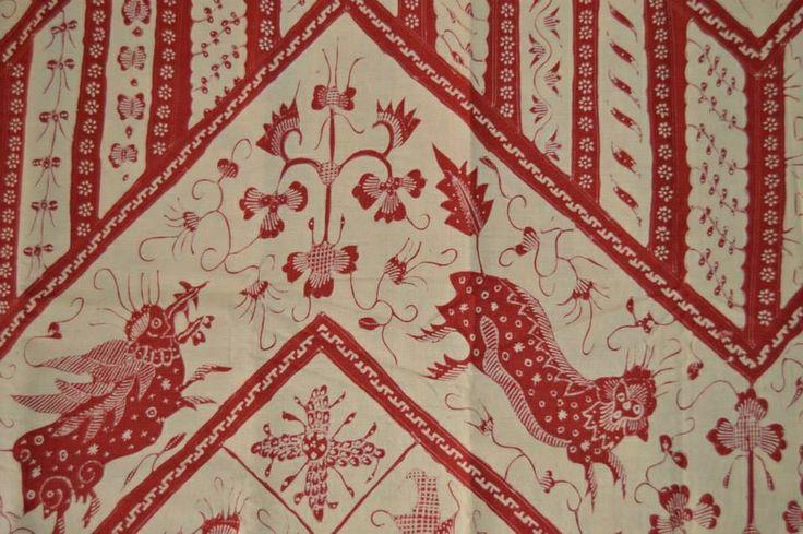 banji-chinese influenced batik made in cirebon