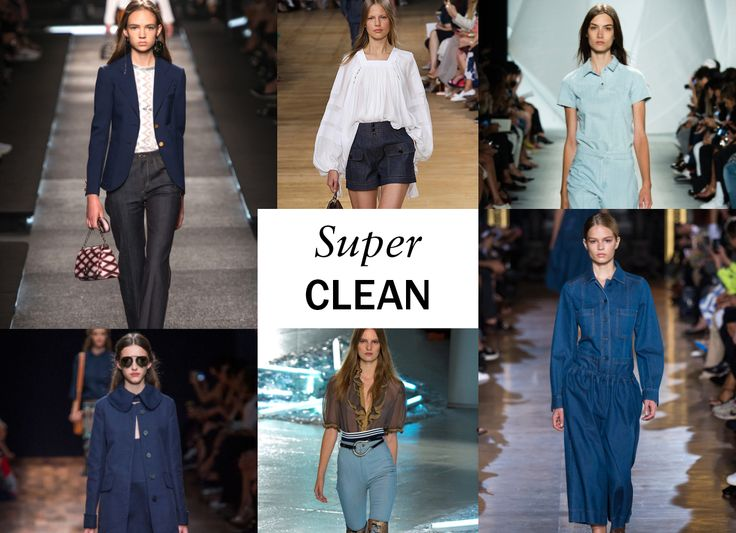 Like the shrink-to-fit jeans you might find at a workwear outlet or surplus store, these looks—from Saint Laurent to Stella McCartney to Michael Kors—have a mint quality to them. No fading. No whiskers. No wear-and-tear; just pure, clean indigo, in shades that range from raw (at Chloé) to powder blue (at Lacoste and Rodarte). -