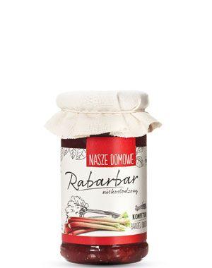 Konfitura niskosłodzona z rabarbaru - Sklep Premium Rosa