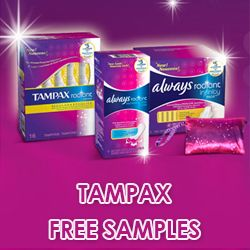 Re-pin and click here to Get a Free Sample from the Tampax Totally Radiant Collection! http://womenfreebies.ca/free-samples/tampax-tuesday/?tampax