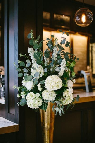 Greenery Centerpieces For Weddings : Best ideas about vase arrangements on pinterest tall