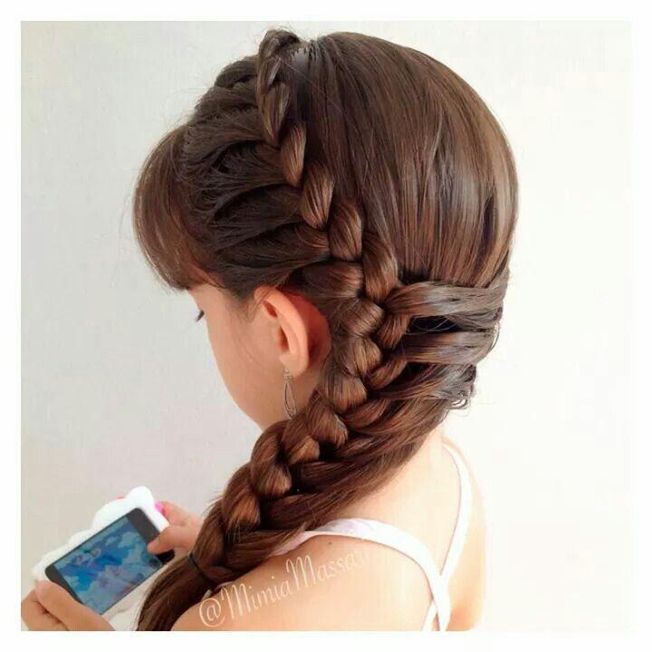 Peinados Faciles Para Ninas Free Imagenes De Peinados Faciles Y
