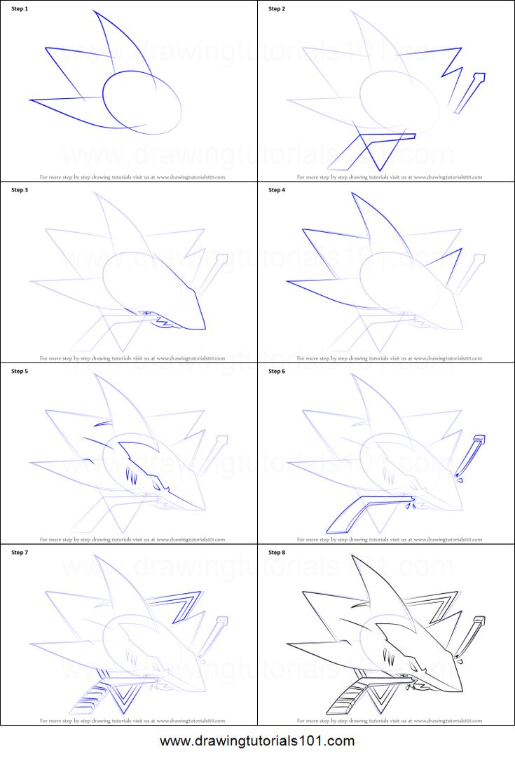 How to Draw San Jose Sharks Logo printable step by step drawing sheet : DrawingTutorials101.com
