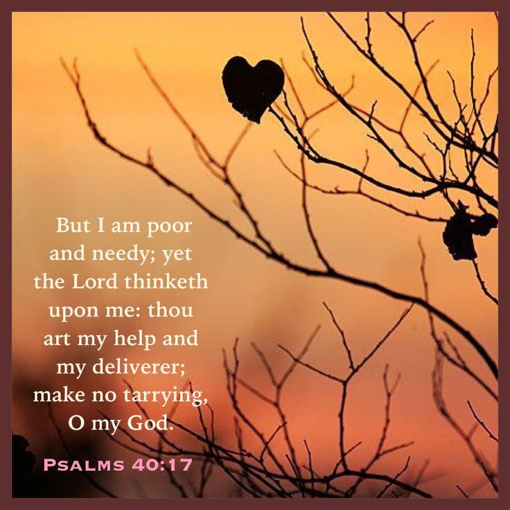 Psalm 40:17 KJV