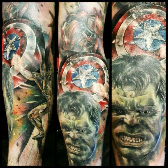 17 best images about tattoos on pinterest captain america tattoo captain america and marvel. Black Bedroom Furniture Sets. Home Design Ideas