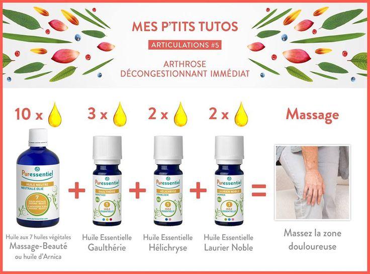 DIY : Calmer les problèmes d'arthrose avec les huiles essentielles