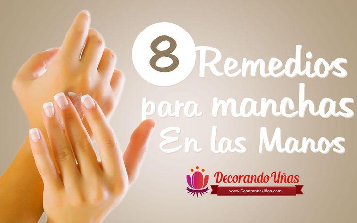 8 Recetas caseras para eliminar las manchas en las manos | Decoración de Uñas - Manicura y Nail Art