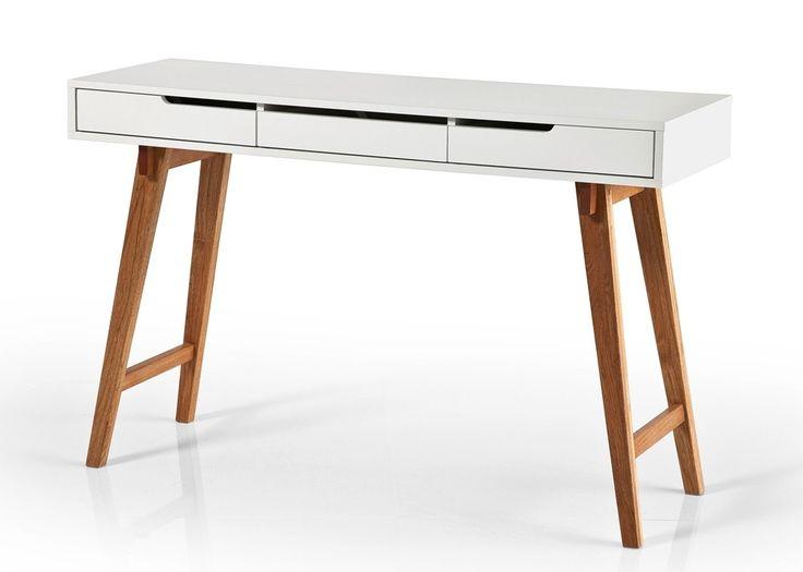 Schminktisch Anneke S Weiß Matt + Massivholz 20565. Buy Now At Https://