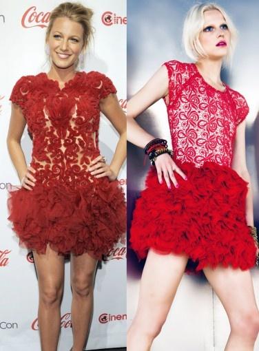 Blake Lively - Kuku Shake Your Bon Bon Dress #gosh #newbies #dresslikeaceleb