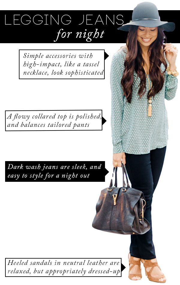 Fall Denim Trends With NYDJ + A Contest | theglitterguide.com Love the tealish color!  #NYDJStyle